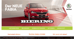 Preview of biering-autohaus.de